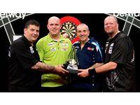 Premier league darts Manchester arena