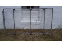 Roller Roof Rack - Galvanized, Fully Adjustable, Van, North Ayrshire / Glasgow