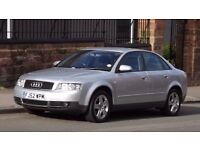 2002 Audi A4 1.9 TDI SE 4 Door Saloon, Full Service History, Last Owner since 2007, Must See!