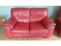 Read Leather 2 seater sofas