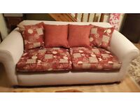 3 Seater sofa (excellent condition) for quick sale. Lisburn.