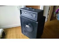 Peavey Bass Amp 300CHS 150W and Peavey Bass Cabinet
