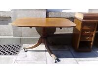 Gorgeous Mahogany tilt top breakfast table