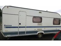 6 BERTH CRISTALL SAMOA 550TKM 2004 FIXED BED AND FIXED BUNKS!!