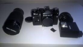 Vintage Zenit Camera & Lens