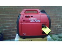 honda eu20i suitcase generator brand new still boxed never used.