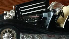 Burago Die cast model Mercedes Benz 500K roadster(1936)