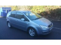2007 FORD FOCUS C-MAX ESTATE 1.6 ZETEC, FULL MOT, 77K, 2 OWNERS & JUST SERVICED!