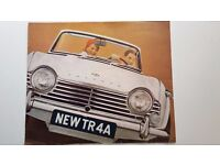Triumph TR 4 A 1965 Brochure