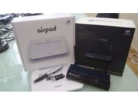 WePresent 1500 wireless media streamer and AP, mint condition, boxed with AirPad