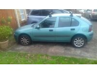 2003 Rover 25. 1.4. Low mileage. Lovley solid car. Needs minor work for MOT. Original manual.