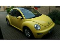 Volkswagen New Beetle 1.9tdi 2003 long MOT 99k miles