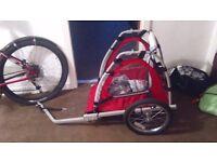 Bike and trailer