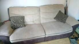 3/4 seater recliner sofa