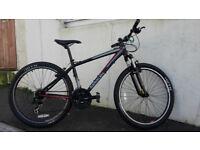 Black Saracen Tufftrax Mountain Bike - 16 inch Small - Fully Serviced inc New Cables