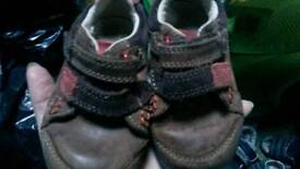 Kids shoes size 4 and half