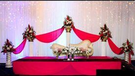 Wedding Reception Venue, Hall, Decoration, dance floor, DJ, Videographer, Photographer, cameraman