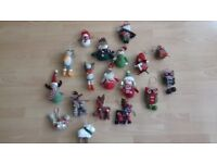 Soft toy/Woodland Animal Themed Christmas Decorations