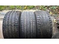 assorted 18inch tyres