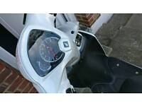 Honda vision 110 white