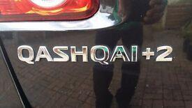 Qashqai+2 Acenta (2ltr. Dsl); SINGLE owner; 10 Month MOT; 2 DVD Player Head Rests; 6 CD changer;
