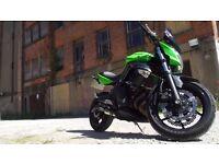 Kawasaki ER6N would consider PX or SWAP