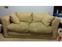 Cream Sofa Bed
