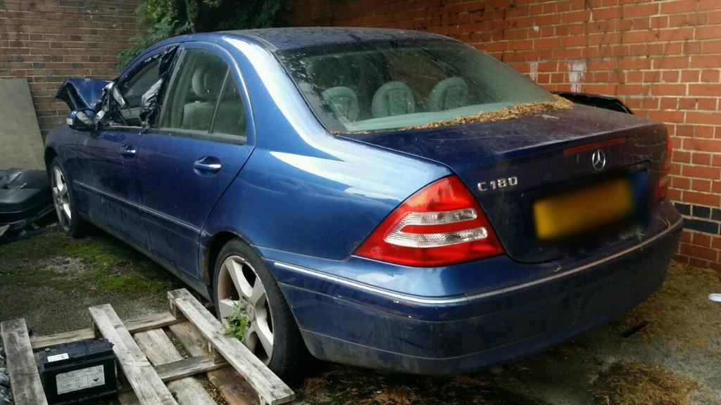 Mercedes C180 Petrol 51 Plate Breaking All Parts In Hockley West Midlands Gumtree