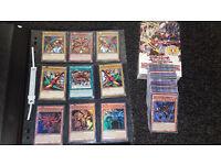 Yu-Gi-Oh Exodia & God Cards Bundle Slifer, Obelisk, Ra + Folder + Structure Deck + 100 Extra Cards