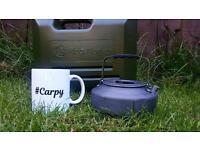Carp fishing mug.