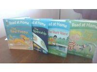 4 Read at Home Books featuring Floppy, Biff Four books: hardback