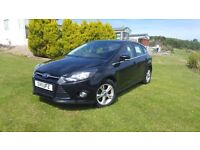 Ford Focus 1.6L Duratec Ti-VCT 125 Panther Black Long MOT