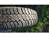 """Wanted - 15"""" Van Tyres x4"""