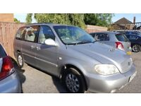 Kia Sedona for sale. 2.5 turbo diesel engine. One years MOT