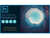 Adobe Photoshop CC 2017 Digital Licence Mac/Win.