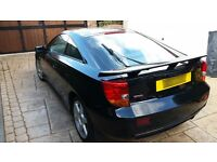 2002 TOYOTA CELICA 1.8 VVTi 1ZZ-FE 140BHP MANUAL BLACK BREAKING FOR PARTS