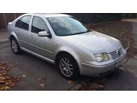 VW BORA HIGHLINE 1.9 TDI PD 130BHP,6 SPEED,New Timing Belt Kit&Pump+12 Mths MOT,F Leather,2 Owners