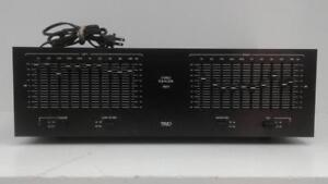 TRIO TR77 Stereo Equalizer (1) (#53335) (Jv112481) We Sell Used Home Audio Equipment