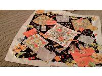 NEW Salvatore Ferragamo silk scarf