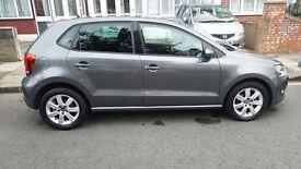 VW Polo 1.4 Match Edition, 2013 model, Automatic, Grey Metallic, Mot expires January 2018