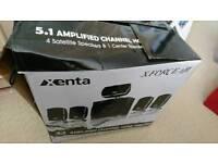 Xenta 5.1 wired surround sound