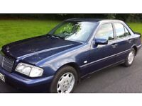 Mercedes Benz C CLASS 2.0 Automatic 2000 w reg Excellent low mileage Mercedes £495