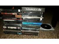 Job lot of 35+ (mostly) metal CDS
