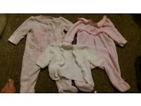 3-6 month girl's clothes