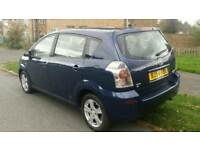 2005 TOYOTA COROLLA VERSO, AUTOMATIC, 7 SEATER, PETROL, FULL SERVICE HISTORY, HPI CLEAR