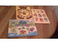 Childrens learning puzzles