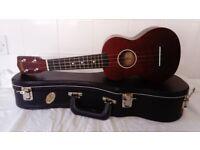 Mahalo Ukulele with hard case