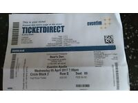2 tickets to see BEARS DEN at the Eventim Apollo in London