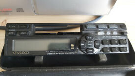 Kenwood car stereo with 10 cd auto changer