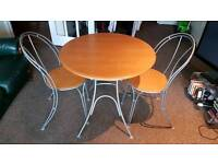 Table and Chairs - Folds Down